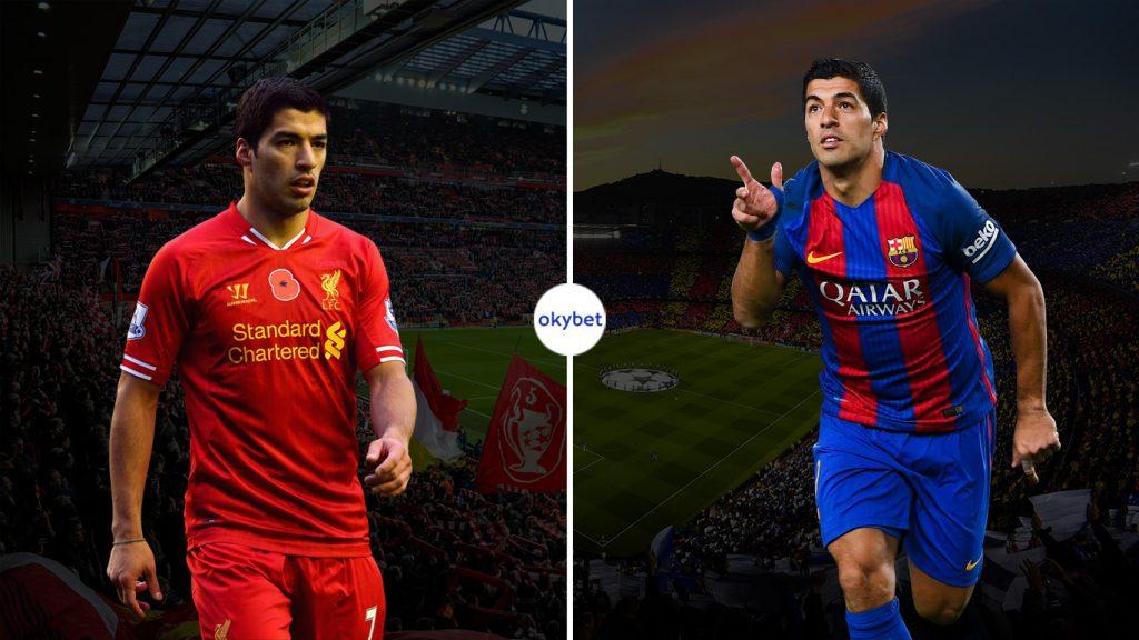 Суарес перешел в Барселону из Ливерпуля