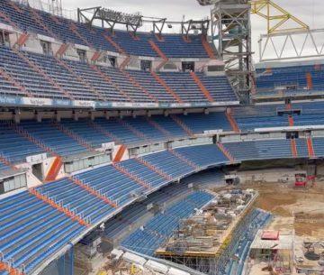 Видео ремонта «Бернабеу»: «Реал» вряд ли вернется на стадион в сентябре